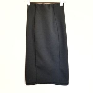 Zara Black High Waisted Pencil Skirt Small